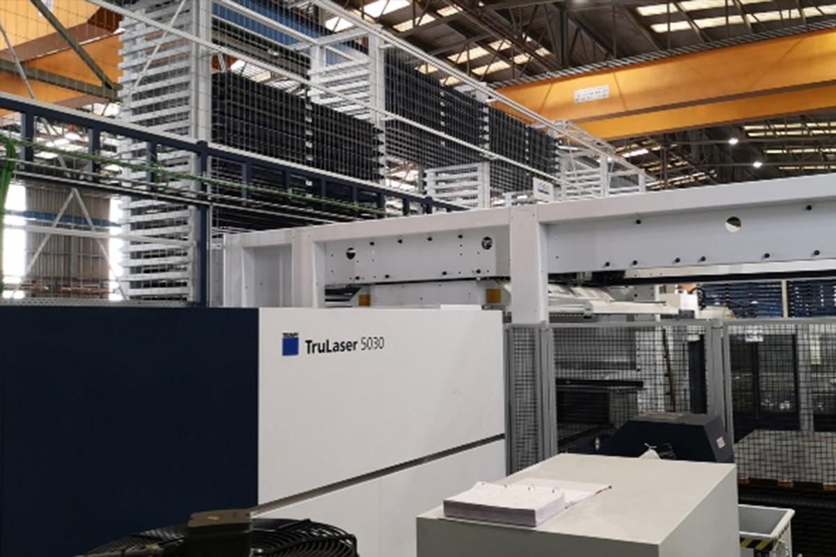 En marxa un magatzem intel·ligent i una nova màquina làser a Seva