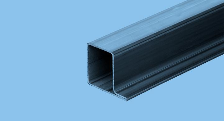 Perfils tubulars per a serralleria - Sèrie C R.5858 - Mafesa